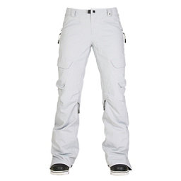 686 GLCR Geode Thermagraph Womens Snowboard Pants, Light Grey Diamond Dobby, 256