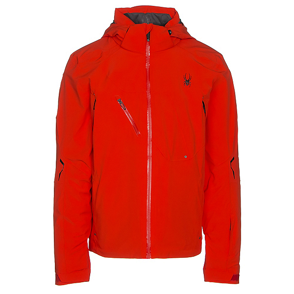 Spyder Alyeska Mens Insulated Ski Jacket, Rage-Red, 600