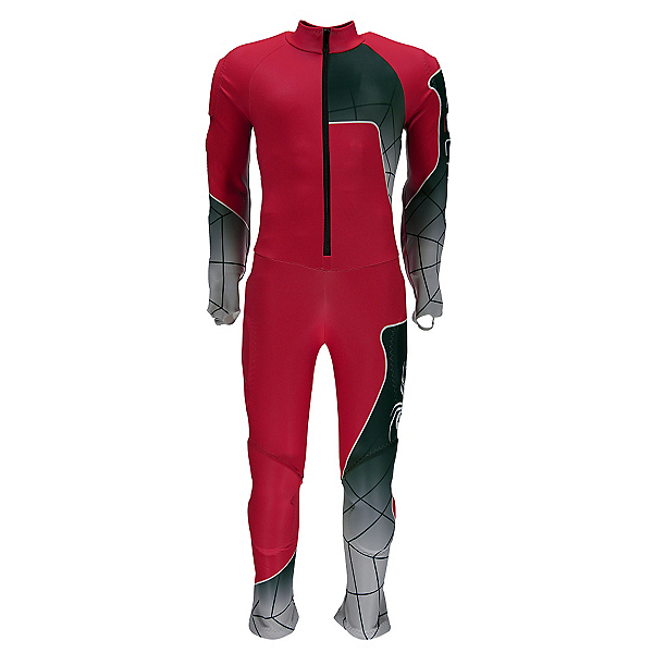 Spyder Mens Nine Ninety Race Suit, Red-White-Black, 600