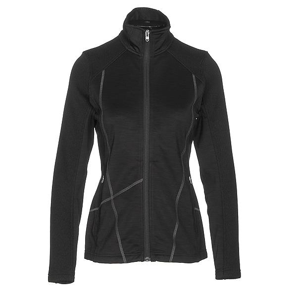 Spyder Bandita Mid Weight Womens Sweater, Black-Weld, 600