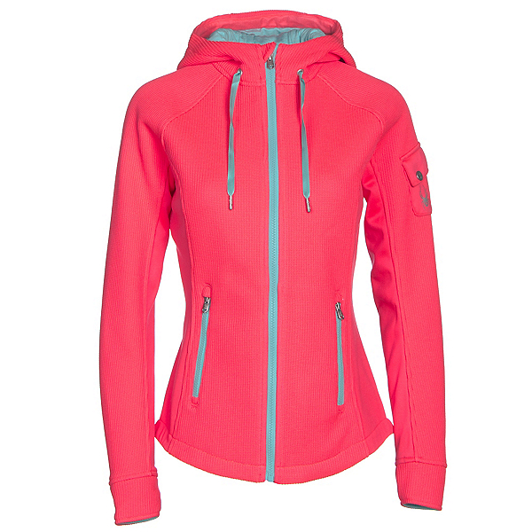 Spyder Ardent Full Zip Mid Wt Womens Sweater, , 600