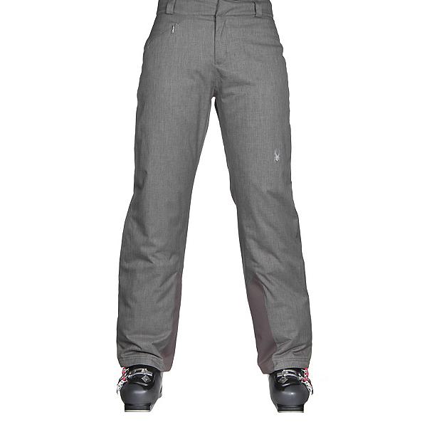 Spyder Winner Athletic Fit Womens Ski Pants (Previous Season), Weld Crosshatch, 600