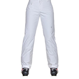 Spyder Winner Athletic Fit Womens Ski Pants (Previous Season), White, 256