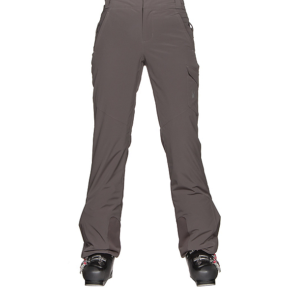Spyder Me Tailored Fit Womens Ski Pants, Weld, 600
