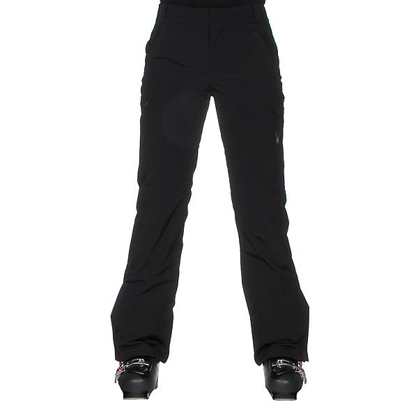 Spyder Me Tailored Fit Womens Ski Pants, Black, 600
