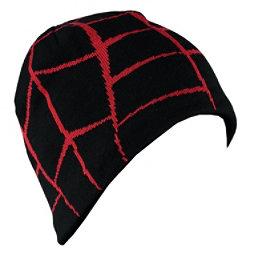 Spyder Web Hat, Black-Red, 256
