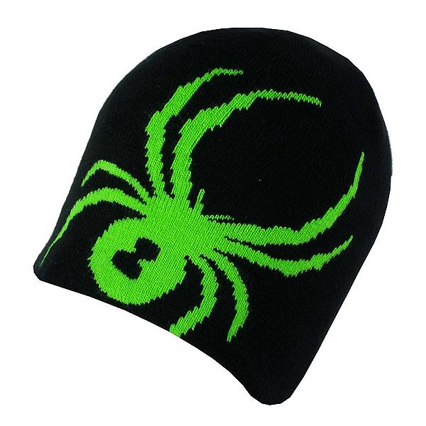 Spyder Reversible Innsbruck Mens Hat, Black-Red-Blade, 600