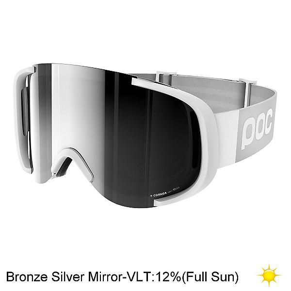 POC Cornea Goggles 2018, Hydrogen White-Bronze Silver M, 600