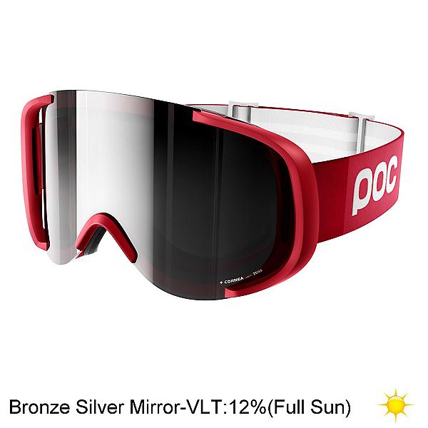 POC Cornea Goggles, Glucose Red-Bronze Silver Mirr, 600