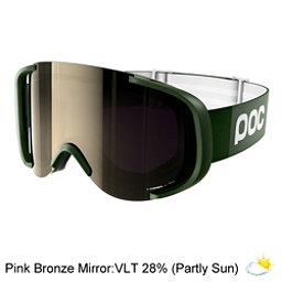 POC Cornea Goggles, Methane Green-Pink Bronze Mirr, 256