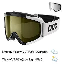 POC Iris Comp Goggles 2018, Uranium Black-Smokey Yellow Tr + Bonus Lens, 256