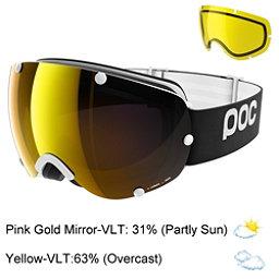 POC Lobes Goggles 2018, Uranium Black-Pink Gold Mirror + Bonus Lens, 256