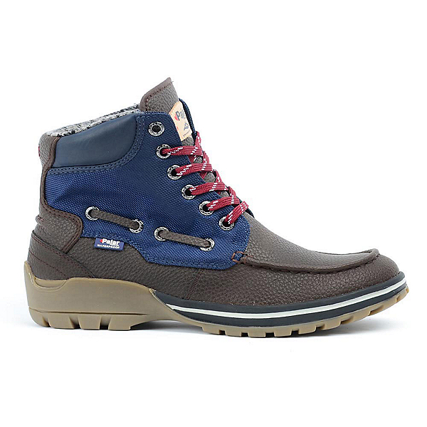 Pajar Brent Mens Boots, Dark Brown-Navy, 600