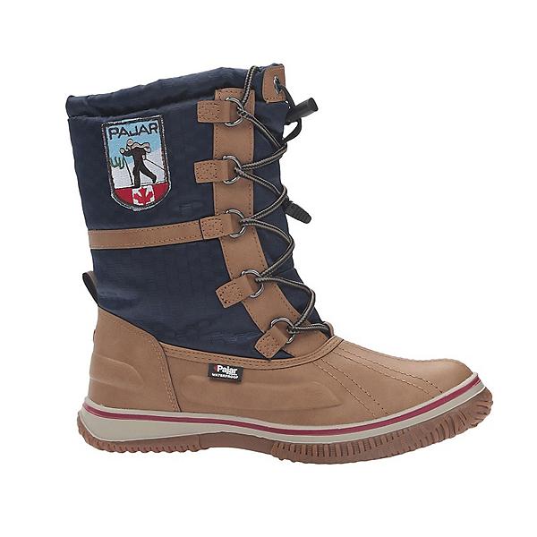 Pajar Grace Womens Boots, Tan-Navy, 600