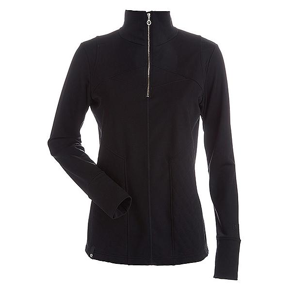 NILS Fallon Womens Long Underwear Top, Black, 600
