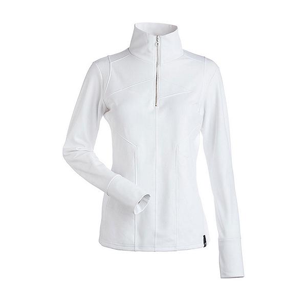 NILS Fallon Womens Long Underwear Top, White, 600
