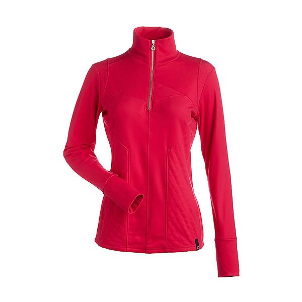 NILS Fallon Womens Long Underwear Top, Cyclamen, 600