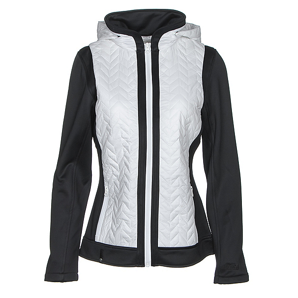 NILS Julie Womens Jacket, White-Black, 600