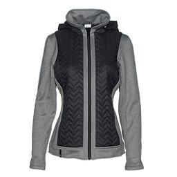 NILS Julie Womens Jacket, Black-Charcoal, 256