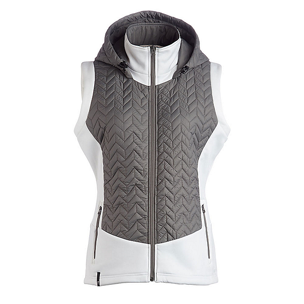 NILS Lottie Womens Vest, Pewter-White, 600