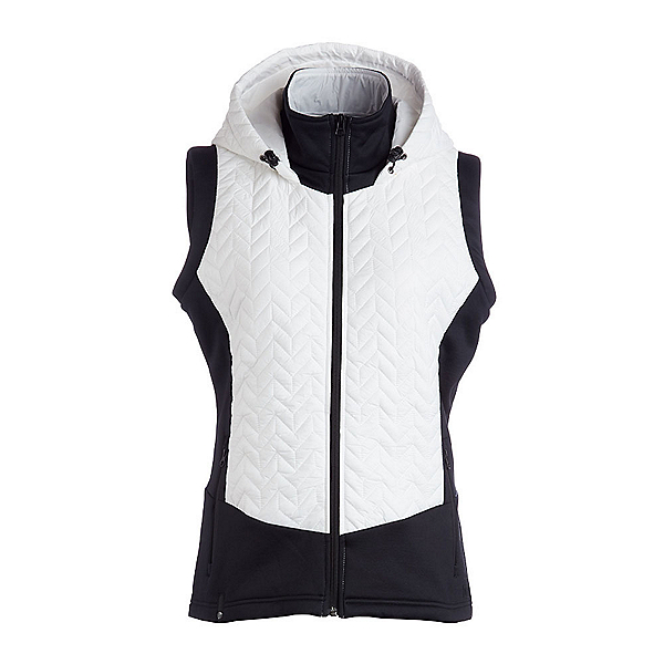 NILS Lottie Womens Vest, White-Black, 600