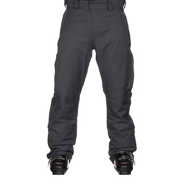 Karbon Rock Mens Ski Pants, Charcoal-Black, 600