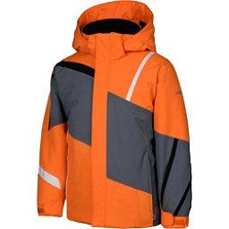 Karbon Jester Boys Ski Jacket, Pylon-Smoke-Black-Arctic White, 256