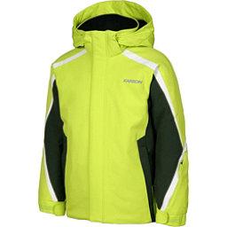 Karbon Merlin Boys Ski Jacket, Lime-Jungle-Arctic White, 256