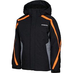 Karbon Merlin Boys Ski Jacket, Black-Smoke-Pylon, 256