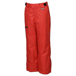 Karbon Stinger Kids Ski Pants, Red-Black, 256