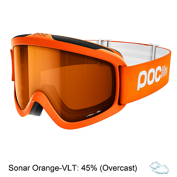 POC POCito Iris Kids Goggles 2018, Zink Orange-Sonar Orange, 600