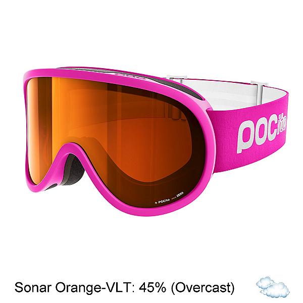 POC POCito Retina Kids Goggles 2018, Fluorescent Pink-Sonar Orange, 600