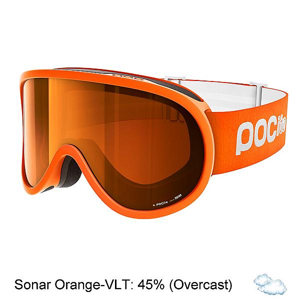 POC POCito Retina Kids Goggles 2020, Zink Orange-Sonar Orange, 600