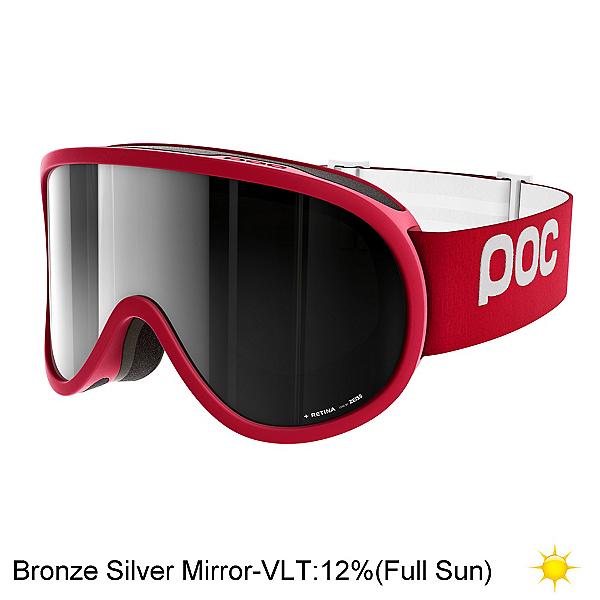 POC Retina Goggles 2018, Glucose Red-Bronze Silver Mirr, 600