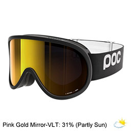 POC Retina Goggles 2018, Uranium Black-Pink Gold Mirror, 256