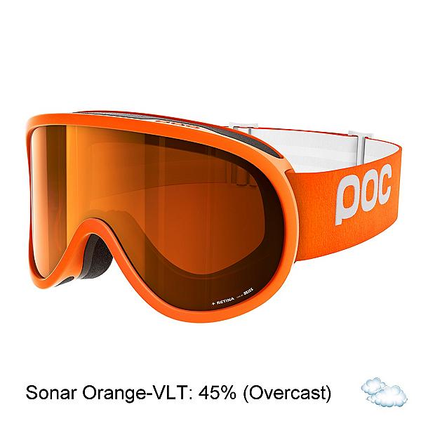 POC Retina Goggles, Zink Orange-Sonar Orange, 600