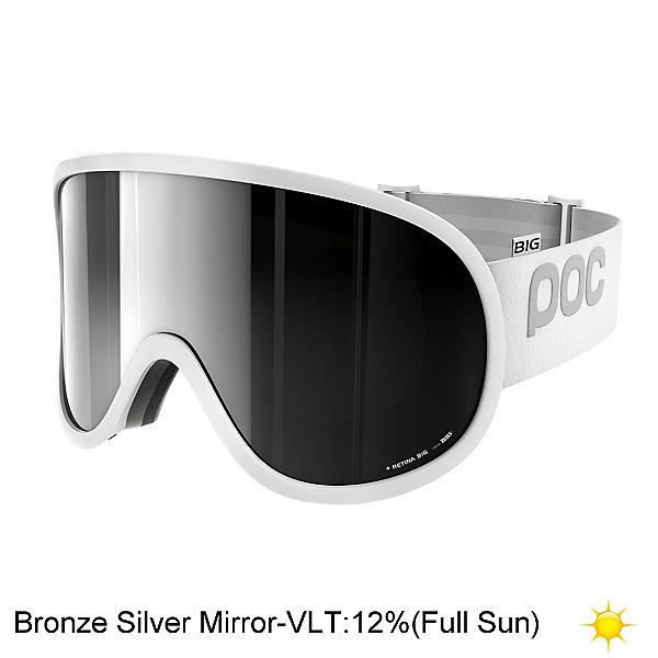 POC Retina Big Goggles 2019, Hydrogen White-Bronze Silver M, 600