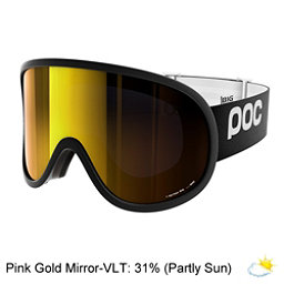 POC Retina Big Goggles 2018, Uranium Black-Pink Gold Mirror, 256