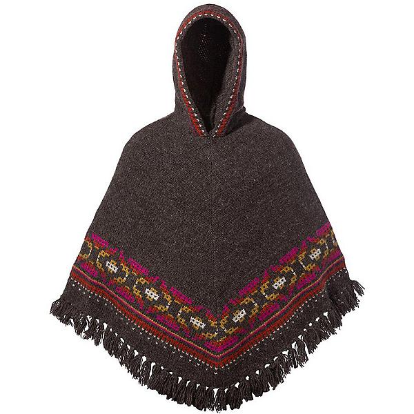 Sherpa Samchi Poncho Womens Sweater, Maato Brown, 600