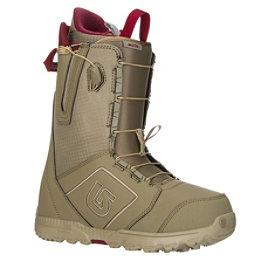 Burton Moto Snowboard Boots, Khaki-Print, 256