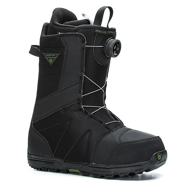 Burton Highline Boa Snowboard Boots, Black, 600