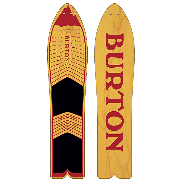 Burton Throwback Snowboard 2017, , 600