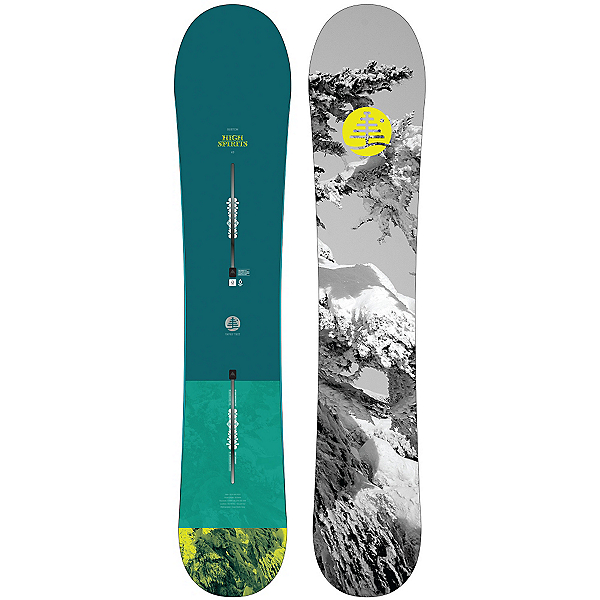 Burton High Spirits Womens Snowboard, , 600