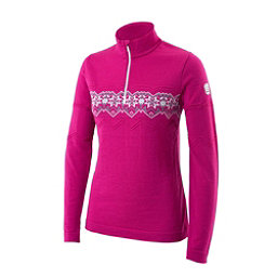 Newland Ester Half Zip Womens Long Underwear Top, Pink, 256