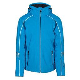 Rh+ Logo Mens Insulated Ski Jacket, Blue Surf-Petrol, 256