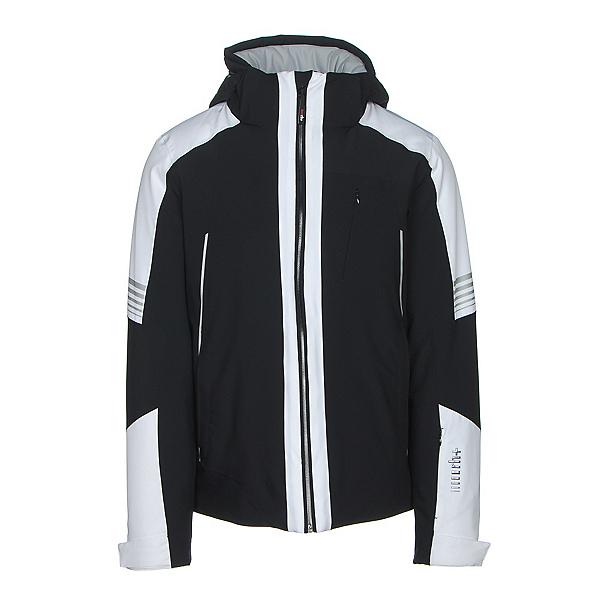 Rh+ Zero Mens Insulated Ski Jacket, Black-White, 600