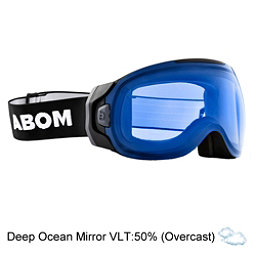 Abom One Goggles, Deep Ocean Blue Mirror, 256