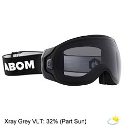 Abom One Goggles 2018, Xray Grey, 256