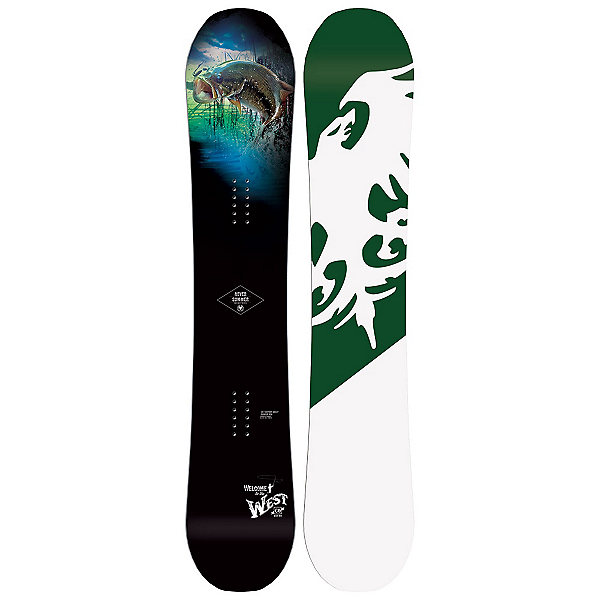 Never Summer West X (Wide) Snowboard 2017, , 600