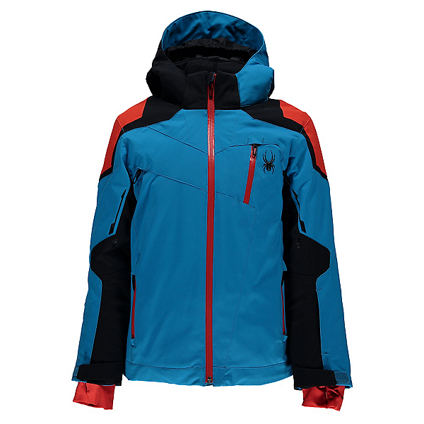 Spyder Speed Boys Ski Jacket, , 600